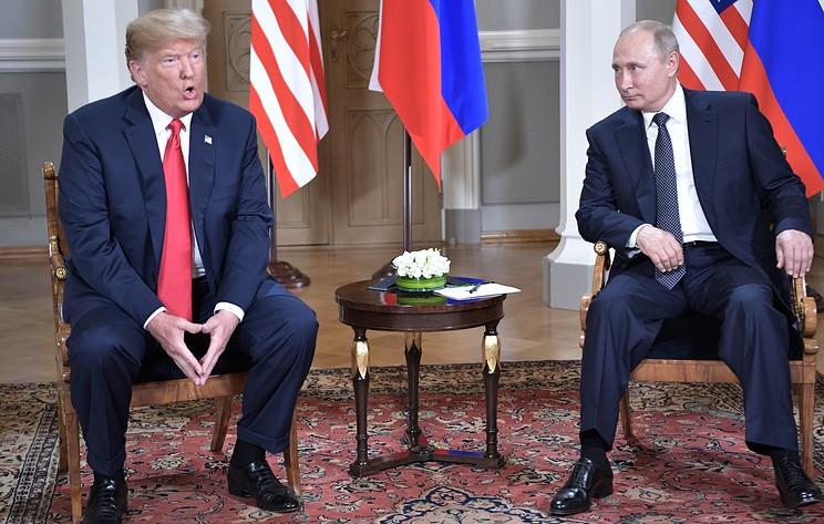 Встреча Путина и Трампа в Хельсинки. Онлайн
