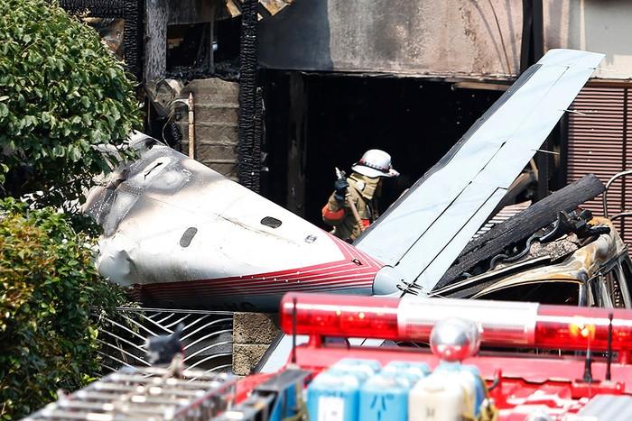 Самолет потерпел крушение в ходе авиашоу в США