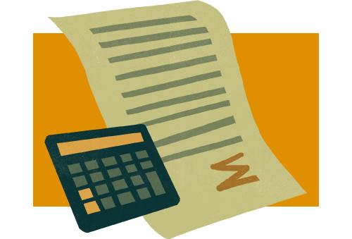 За непредставление РСВ заблокируют банковские счета