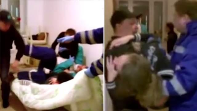 Мужчина отправил в нокдаун врачей скорой, приехавших к его беременной жене