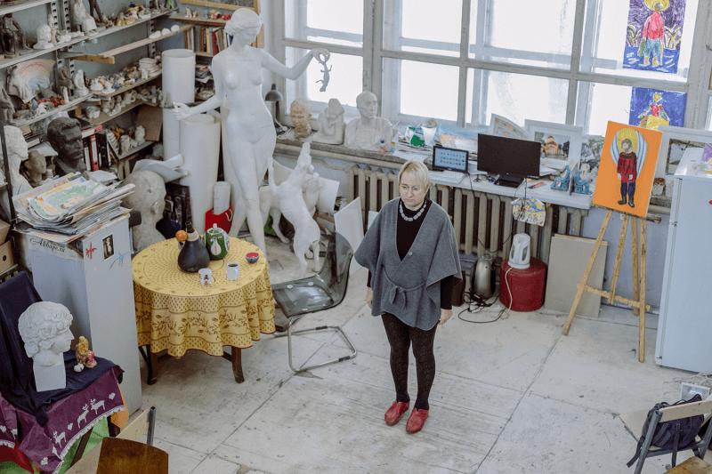 Внучка Маяковского — о выселении из мастерской, в которой ее семья работала полвека