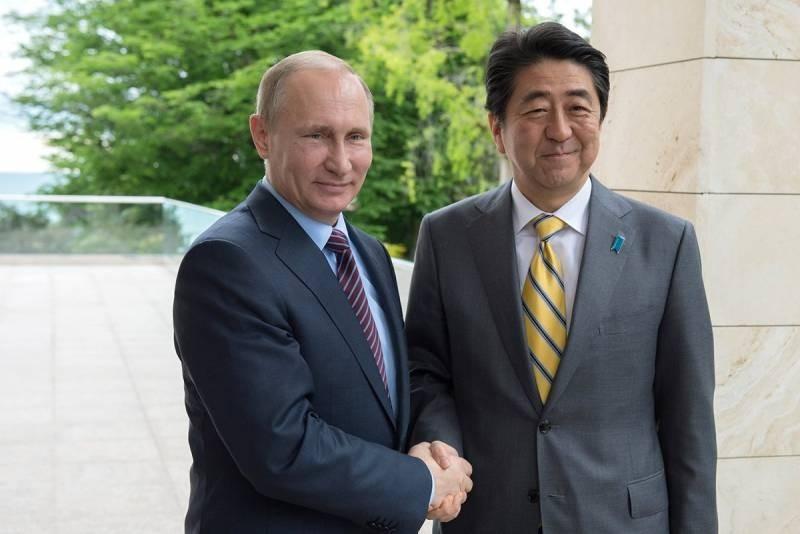 Абэ: в переговорах по мирному договору с РФ существует много проблем