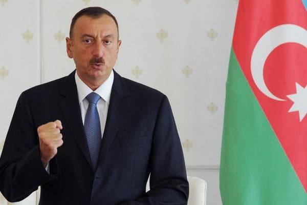 Алиев заявил, что 2019 год может стать важным в решении карабахского конфликта