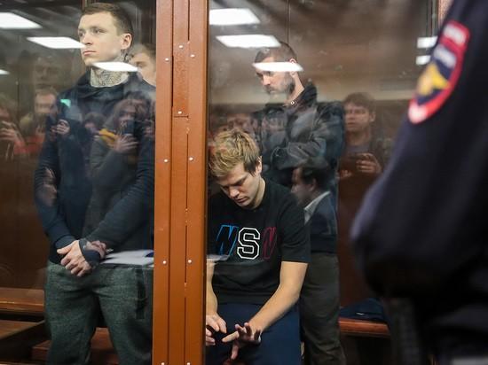 В суде над Кокориным и Мамаевым разыгралась драма