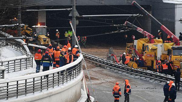 Восстановление дамбы у Тушинского тоннеля начнут примерно через месяц
