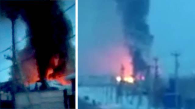 Уголовное дело возбуждено после пожара на заводе под Оренбургом
