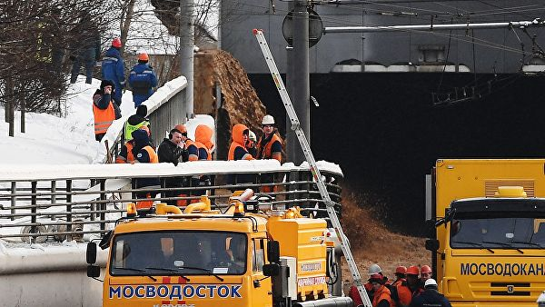 Движение на Волоколамке открыто в сторону области после ЧП в тоннеле