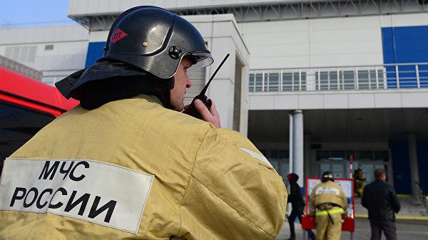 В ХМАО загорелся частично расселенный дом