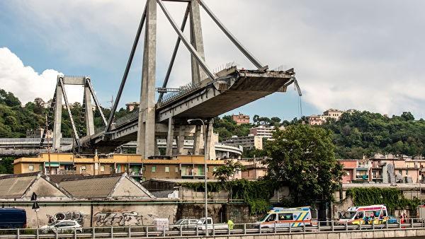 В Генуе начали разбирать обрушившийся летом мост