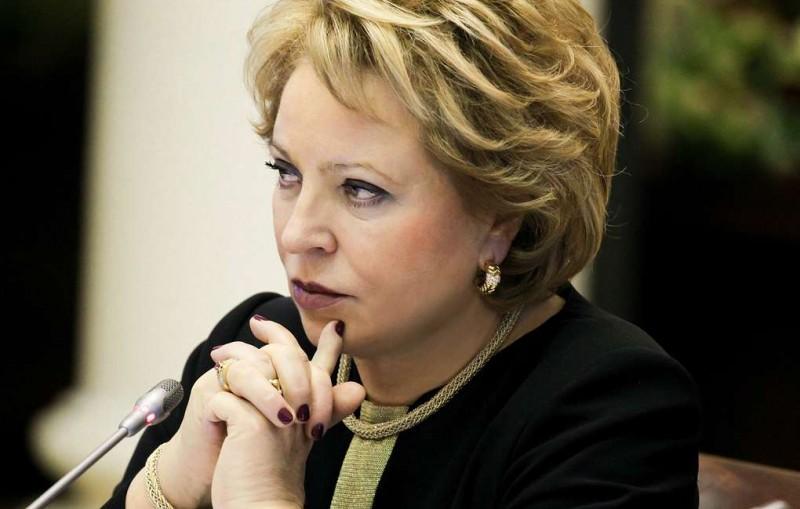 Матвиенко после дела Арашукова поручила проработать вопрос о проверке сенаторов