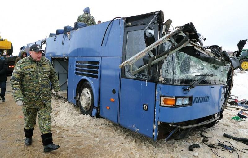Следователи задержали владельца перевернувшегося в Калужской области автобуса
