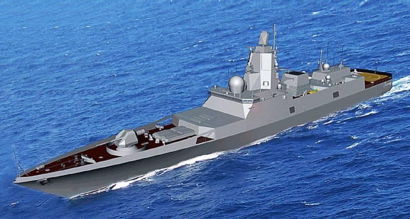 В РФ разрабатывается фрегат, способный нести 48 крылатых ракет