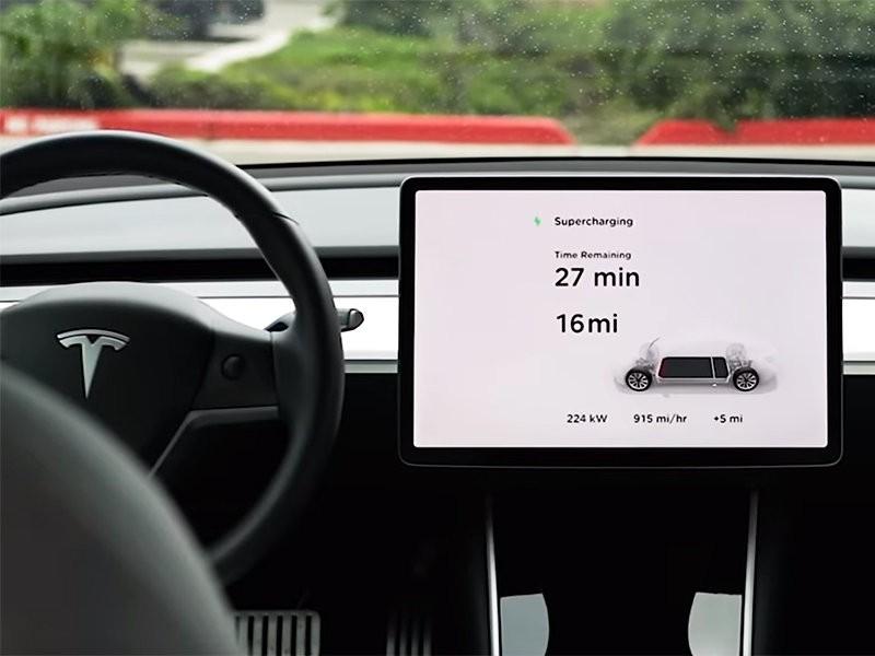 Tesla представила третье поколение фирменных зарядных станций Supercharger