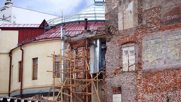 В Москве Рождественку и соседние переулки озеленят в рамках благоустройства
