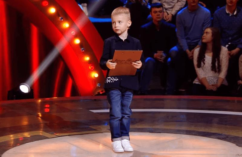 Пятилетний мальчик изВитебска пошутил про Зеленского ивыиграл 1800 долларов