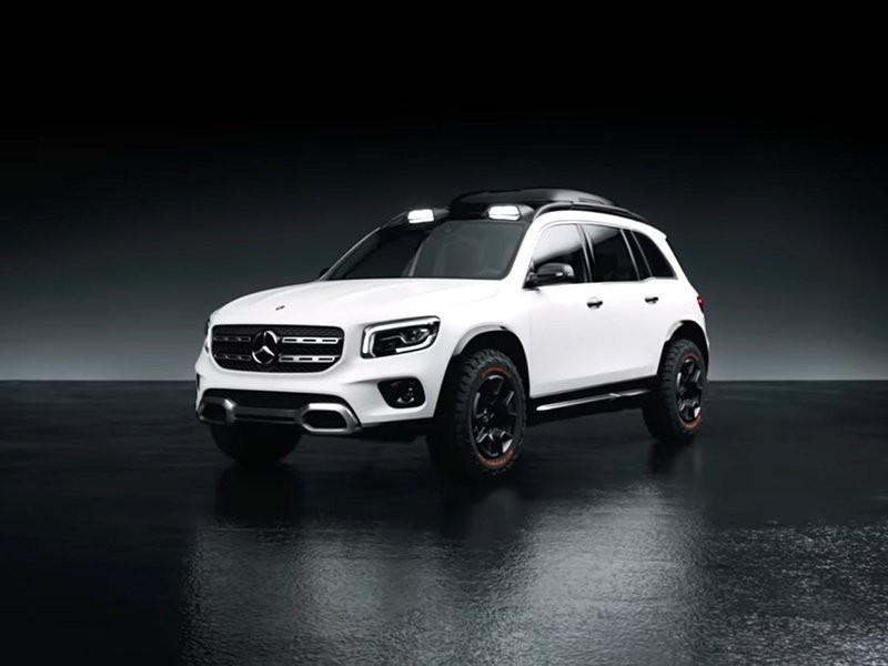 Mercedes-Benz показала концепт семиместного кроссовера GLB (ВИДЕО)