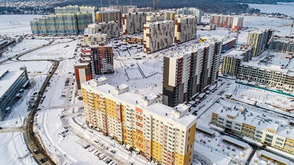 Ввод жилья в новой Москве в первом квартале вырос вдвое