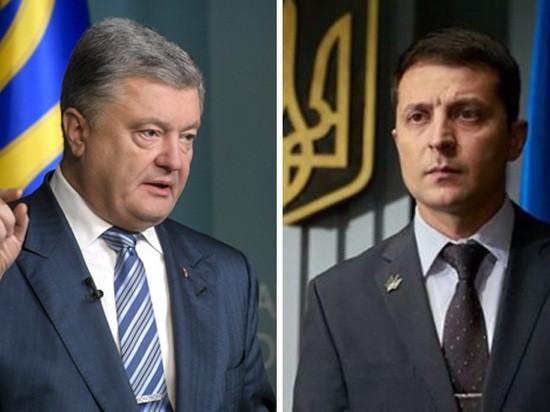 Дебаты Порошенко и Зеленского: онлайн-трансляция