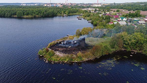 Власти Карелии направили заявку на реставрацию сожженной церкви