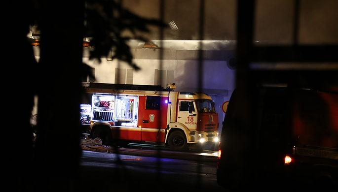 Пожар вспыхнул в многоэтажке в Москве, есть жертвы