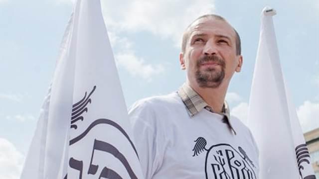 В Москве избили художника-акциониста Пименова