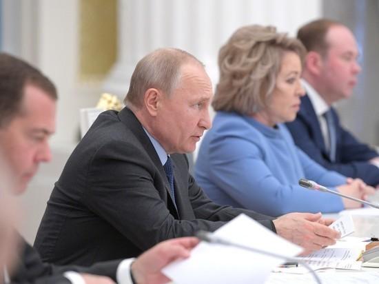 Путин жестко раскритиковал правительство