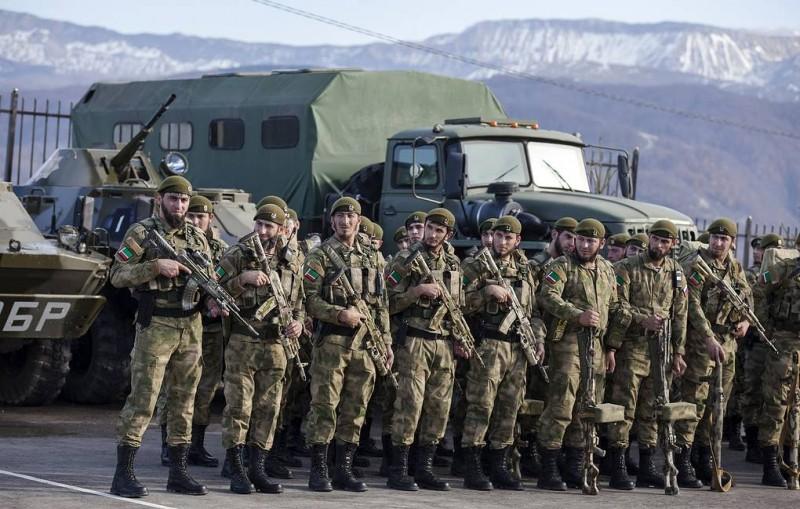 """США ввели санкции против чеченского спецотряда """"Терек"""" и пяти россиян"""
