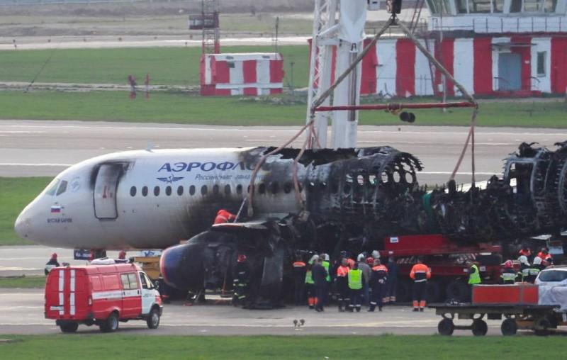 МАК реконструировал полет разбившегося в Шереметьево SSJ-100