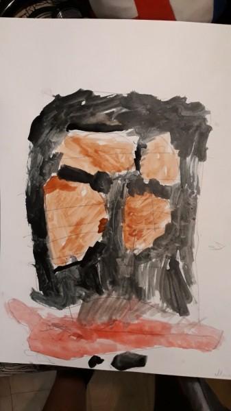 ВРоссии психолог издетского сада испугалась из-за страшного рисунка ребенка. Мальчик лишь хотел есть