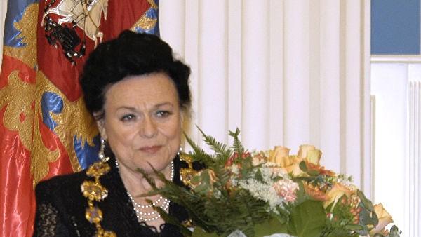 В Москве откроют мемориальную доску на фасаде дома, где жила Людмила Зыкина