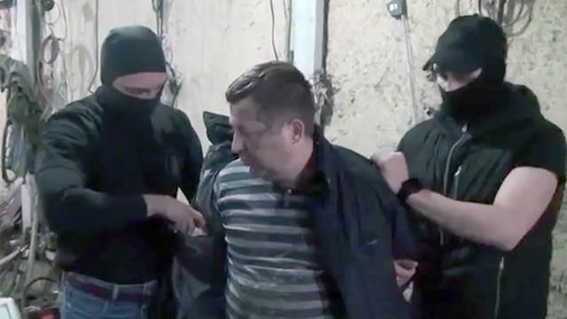 Видео задержания поляка, пытавшегося вывезти из РФ секретные детали С-300