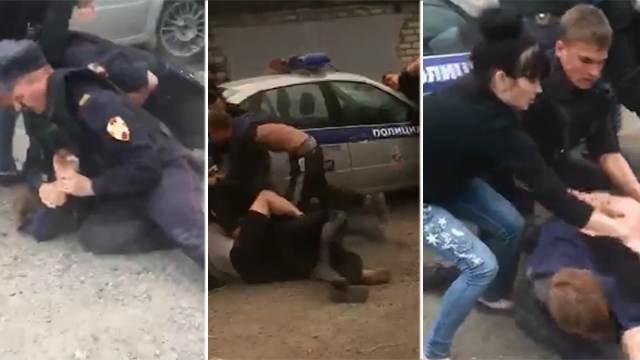 Участников массовой драки с полицейскими арестовали в Алтайском крае