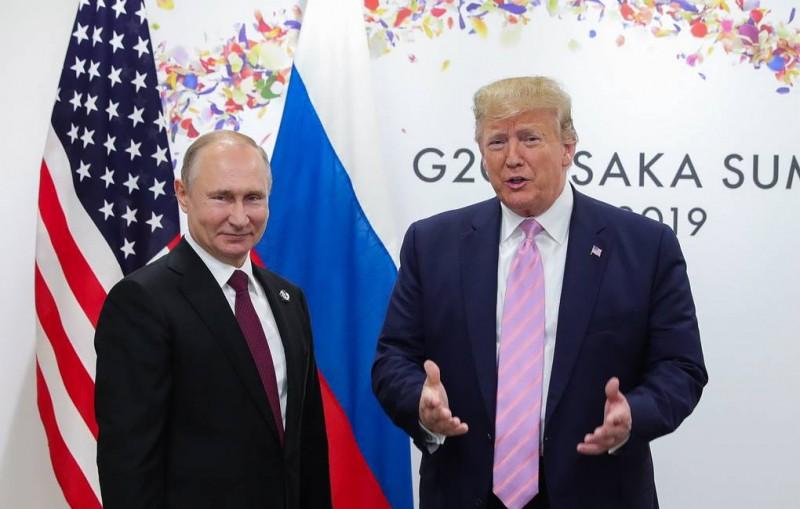 Путин рассказал о содержании разговора с Трампом