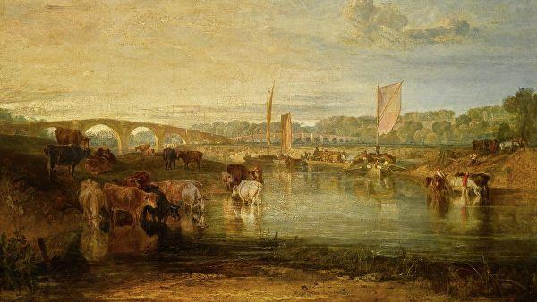 Пейзаж Уильяма Тернера удалось оставить в Великобритании благодаря лотерее