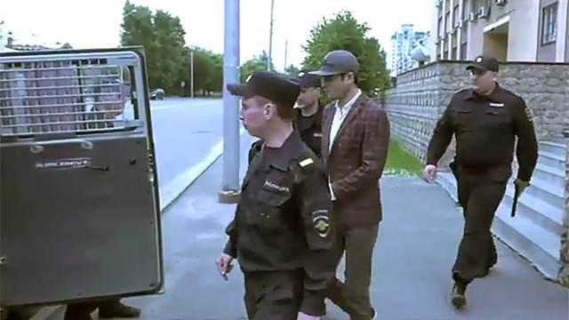 Опубликовано видео ареста торговца людьми в Новосибирске
