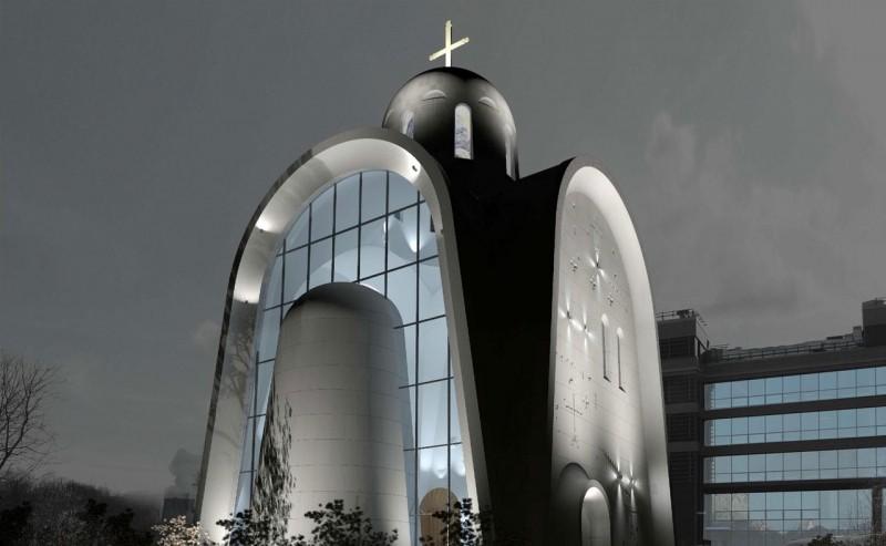 Божественный прогресс, или Зачем Москве современный храм наВерейской улице