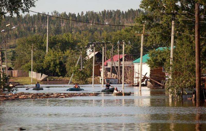 Число погибших при наводнении в Иркутской области увеличилось до 14