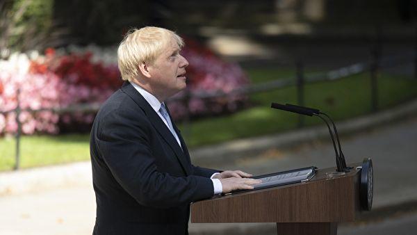 Лидер лейбористов прокомментировал первую премьерскую речь Джонсона