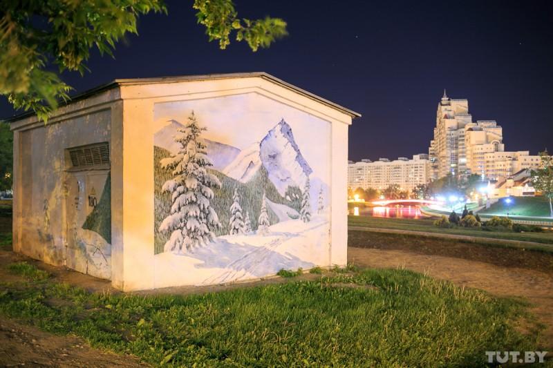 Минск-3D. Как рисунки становятся порталами виные миры