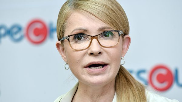 Тимошенко назвала реакцию Порошенко на телемост с Россией циничной