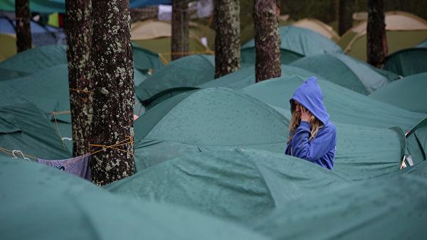 МЧС разработает требования к детским палаточным лагерям