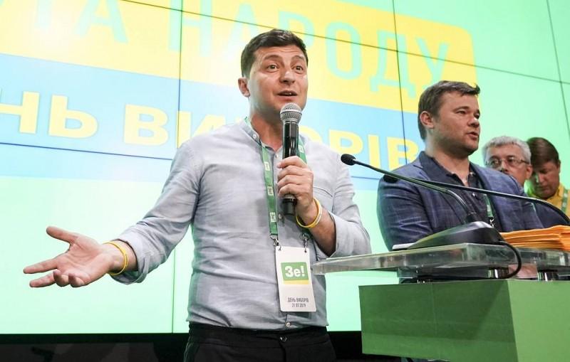Партия Зеленского набирает более 42% на выборах в Раду