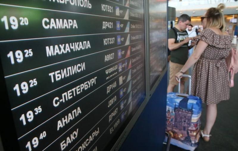 Россия приостанавливает авиасообщение с Грузией