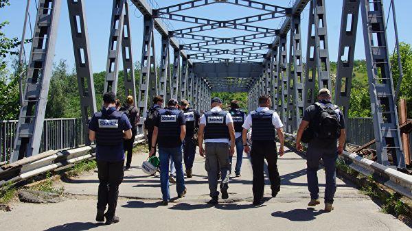 СММ ОБСЕ зафиксировала 26 нарушений перемирия в Донбассе