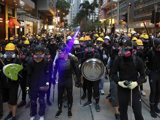 Протесты в Гонконге: власти Китая критикуют Запад за вмешательства