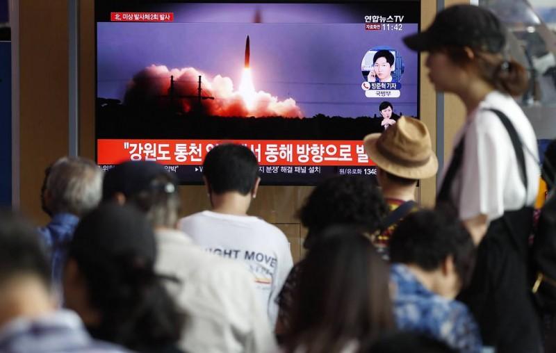 СМИ: КНДР провела очередной запуск баллистических ракет малой дальности