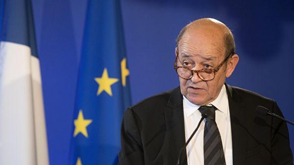Глава МИД Франции призвал к диалогу для мирного решения кризиса в Гонконге