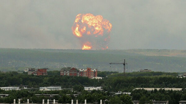 Число пострадавших при взрыве боеприпаса под Ачинском выросло до десяти