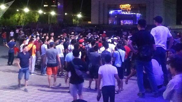 Посольство в Бишкеке прокомментировало ситуацию после ареста Атамбаева