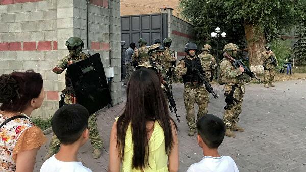 В штабе Атамбаева рассказали о состоянии пострадавших спецназовцев